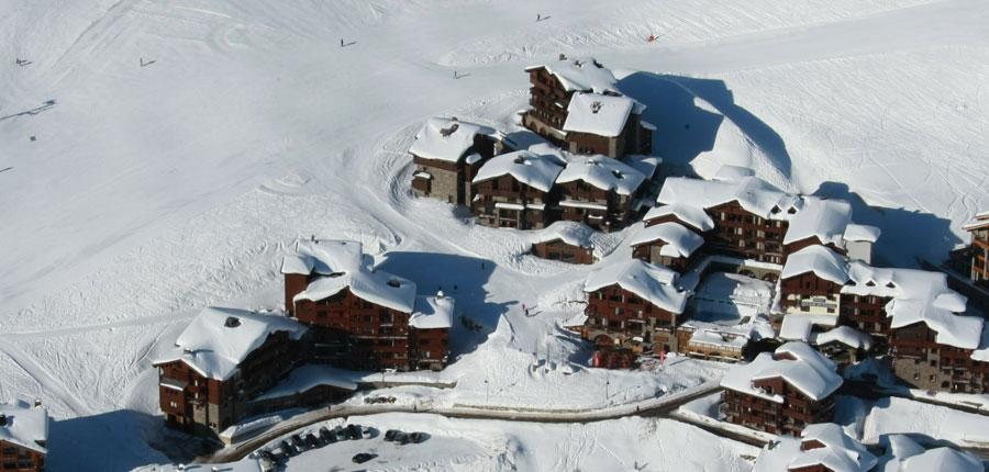 Village montana suites aerial view
